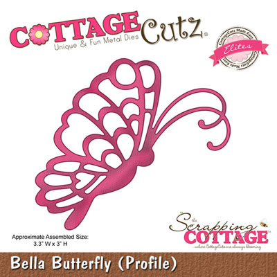 CottageCutz - Bella Butterfly Profile - Elites  (sold individually)