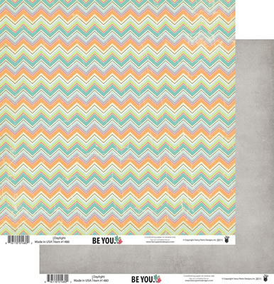 Fancy Pants - Be You - Daylight 12x12 Double-Sided paper  (pack of 10)
